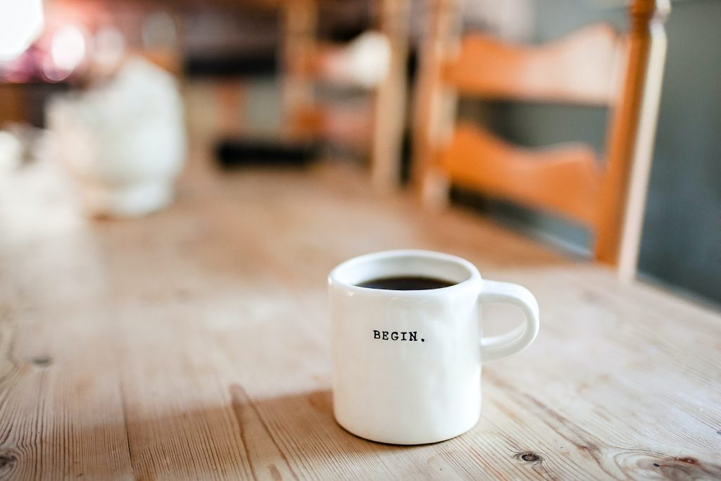All good content writing starts with a hot cup of coffee in the morning!